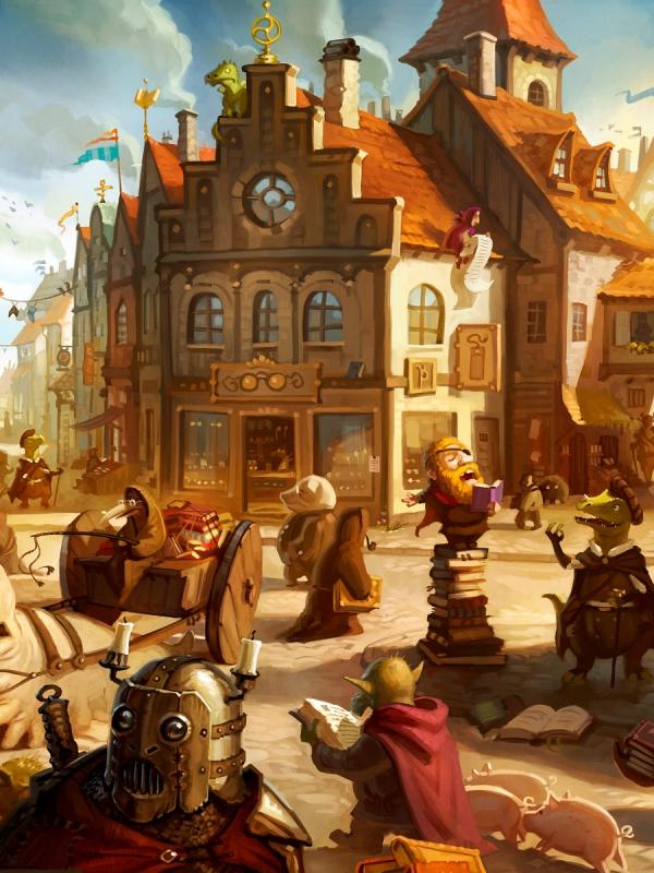 Die Stadt der Träumenden Bücher